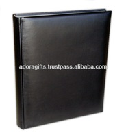 ADAPAC - 0040 12x18 photo album with leather cover / cheap photo albums for promotion / leather photo album suppliers in india
