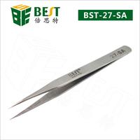Stainless steel vetus antistatic tweezers supplier