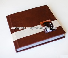 ADAPAC - 0035 fancy photo albums wholesale / top quality leather photo album cover / new style cheap 4x6 photo albums