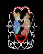 Valentine's tiara and crown