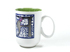 16oz green reactive tall coffee mug