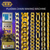 SNAKE CHAIN GOLD JEWELLERY CHAIN MAKING MACHINE WITH PLASMA WELDING SYSTEM