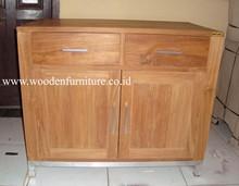 Teak Buffet Teak Minimalist Cabinet Teak Minimalist Side Board Teak Wood Home Furniture Teak Indoor Furniture Solid Teak Wood