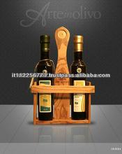 Olive Wood Oil and Vinegar Cruet