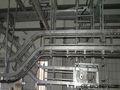 Ovejas/en canal cabra procesamiento de más de- la cabeza automático de transporte por ferrocarril de masacre casa