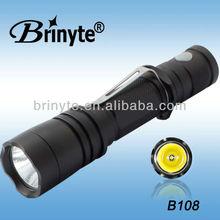 Brightness Portable Multifunction Cree Police LED Flashlight