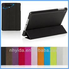 Black PU Stand Smart Cover for iPad mini