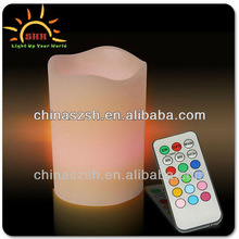 Beautiful Real Wax Material Fashionable Light Up LED Flashing Candle Wholesale for All Party