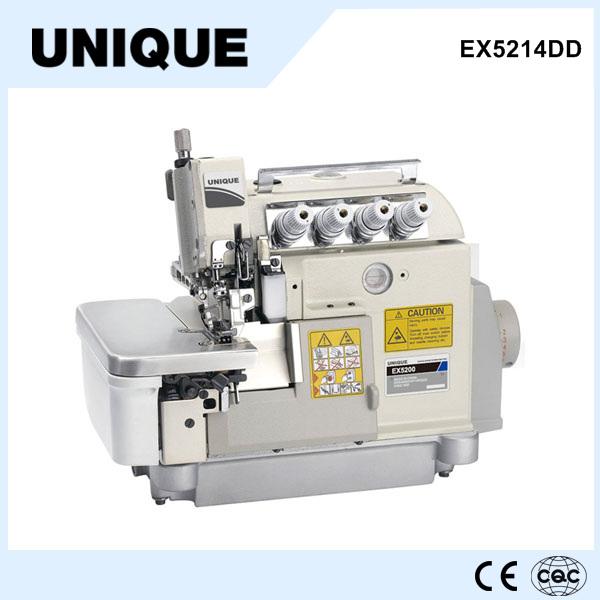 EX5214DD direct drive high speed 4 thread overlock industrial sewing machine price Japanese sewing machine