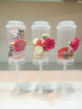 Plastic Baby Food Push Pop Containers
