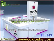 2013 OEM and ODM new feeling design 4*3m bubble tea kiosk frozen yogurt kiosk ice cream kiosk for sale make in China