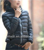 Short cheap black down jacket winter coat fashion design