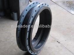 Flexible single rubber expansion joints