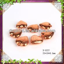 Heart Shape CCB Beads/ for Bracelet, Necklace, Handicraft