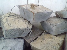 block zinc dross /zinc dust