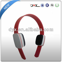 Colorful silent disco comfortable earmuff fancy design headphone with excellent sound from Shenzhen factory
