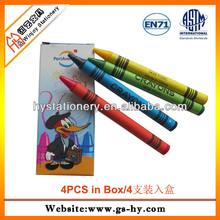 factory offer 4pcs children's paint color, mini crayons set