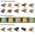 De China venta al por mayor compuesto de madera de plástico reciclado de tablones