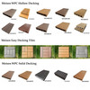 China wholesale composite wood recycled plastic planks