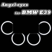 Car accessory angel halos CCFL angel eyes ring for BMW E46 projector,E36,e38 e39,ccfl angel eyes kit in motorcycle headlights