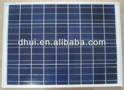 Price Per Watt Solar Panels 50W 12V Polycrystalline