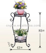 European Style 2-Tier Flower Stand