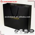 classic preto saco de papel sacos de papel grosso