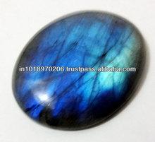 Natural Labradorite Blue Fire Oval Cabochon Gemstones