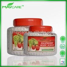 Raspberry moisturizing skin care oem manufacturer facial scrub cosmetic packaging