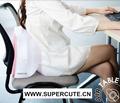 almohadilla inflable plegable de descanso de espalda para silla de oficina