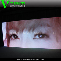 HD full color advertising use video LED display screen live cricket score update led display screen