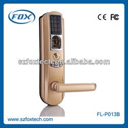 FOX 2013 HOT sale Professional Zinc Alloy fingerprint digital lock