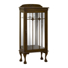 Mahogany Chippendale Small Display Cabinet