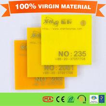 No smell Rigid PVC Sheet-2mm acrylic sheet