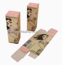 folding paper box pattern