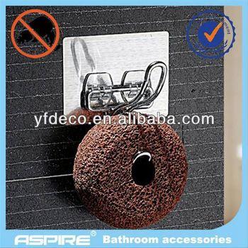 Bathroom stainless steel soap dispenser