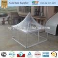 4x4m marco de aluminio de la tela a prueba de agua de plástico transparente party tienda para la venta