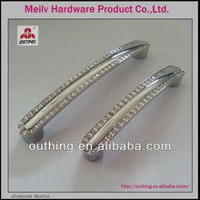 Good selling fancy crystal furniture handles MEILV HARDWARE