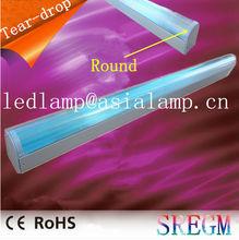 600mm 1200mm 1500mm clean room light fixture / dust proof fluorescent light fixture / tear drop light