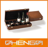 HOTSALE Customized Made-in-china 6 Bottle Wine Box With Handle(DW13-E0208)