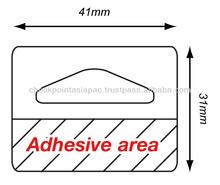 Delta Adhesive Hang Tab (41mm X 31mm)