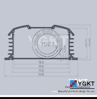 silk print aluminum extrusion enclosure