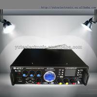 digital video mixer amplifier AV-828A support karaoke