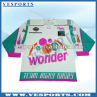 custom hockey jerseys made of polyester fabric wholesale canada