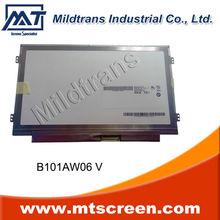 Laptop LCD Panel for 10.1 slim led New Original 1024*600 B101AW06 V.1
