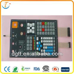 auto electronic membrane keyboard