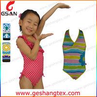 Customer printed kids clothes girls swimwear models
