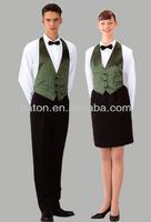 latest hotel uniform/waitress uniform/restaurant uniform