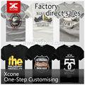 Made in china moda v- pescoço camiseta para os homens