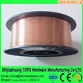 Venta caliente! Co2 de soldadura wirea ws 5.18 er70s-6 alambre de soldadura iso9001 certificado, buen precio de muestra gratis